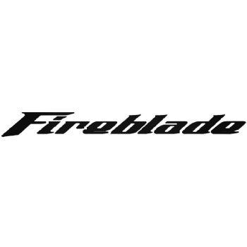 2 x Motorbike Honda Fireblade Stickers Car Motorbike Vinyl Decals